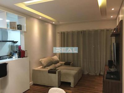 Apartamento Com 3 Dormitórios À Venda, 86 M² Por R$ 630.000 - Residencial Art&life - Paulínia/sp - Ap1152