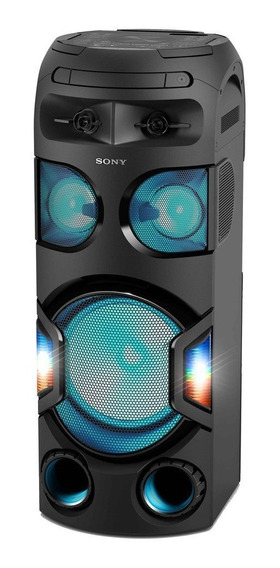 Mini System Torre Karaokê Bluetooth Som 360º Mhc-v72d Sony