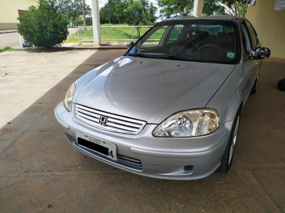 Vende-se Honda Civic 99/2000 1.6 Automático, Completão Zera