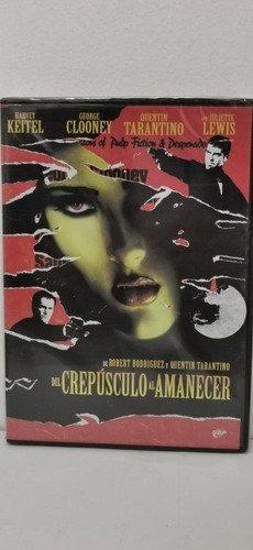 Del Crepusculo Al Amanecer Dvd Argentino [nuevo]