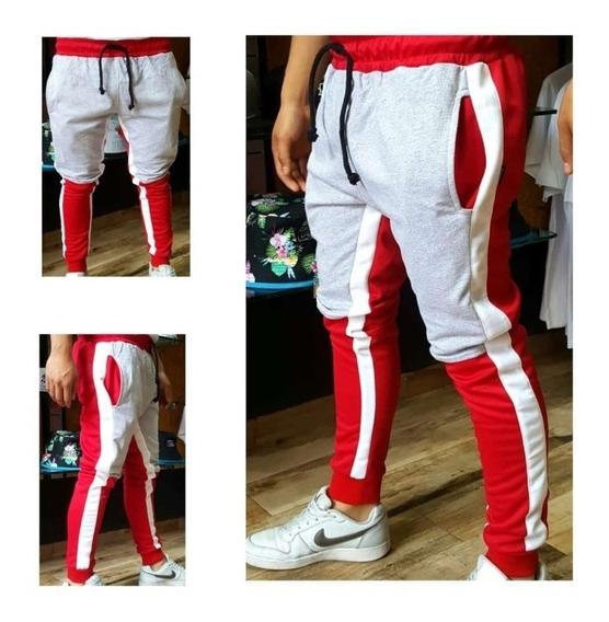 Jogger Pants Skinny Algodón Strech Urbano M G Eg