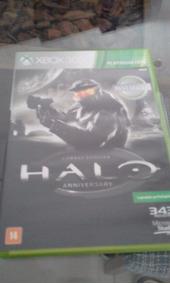 Jogo Halo Anniversary Xbox 360 Mídia Física Platinun Hits