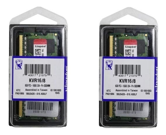 Memoria 16gb 2x8gb Macbook Pro 2012 / 2013 Early Mid Late