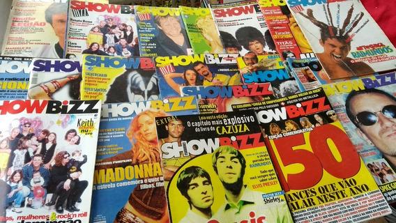 Show Bizz Ano 11 Ao 14 Lote C/ 19 Revistas Oferta Imperdível