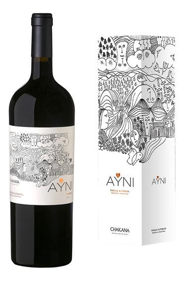 Vino Tinto Malbec Ayni Magnum (1x1500ml) Botellón Con Estuch