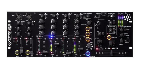 Allen Heath Dj Xone S2 Mixer Pro 4 Canais / Wx