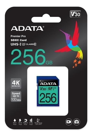 Adata Memoria Sd 256gb Uhs-i Clase 10 Celulares 95mb/s /k /a