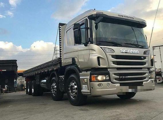 Scania P310 Bitruck 8x2 2015 Carga Seca