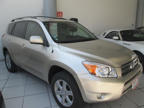 Toyota Rav 4 Limited 2007 4 Cilindros Dorado