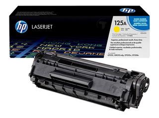 Toner Hp Original 125a Amarillo Cb542a Laserjet