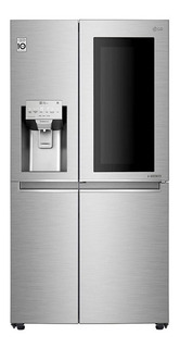 Heladera LG Ls74sxs Inverter Instaview Door-in-door 690 Lts
