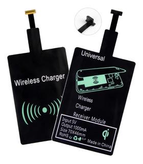 Carregador Adaptador Sem Fio Qi Wireless P/ Celular Cód.046