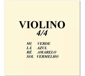 Cordas Para Violino 4/4 Mauro Calixto Conjunto