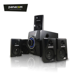 Panacom Home Theater 5.1 Usb Sd Bluetooth Aux Pc Tv Fm 1662