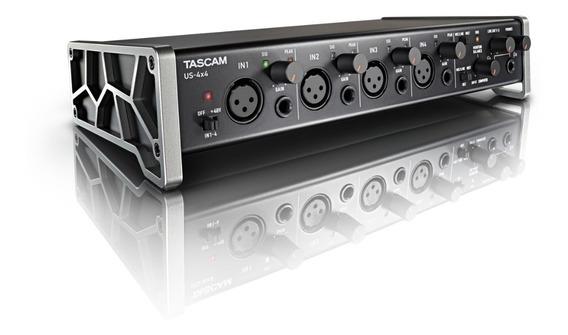 Interface Tascam Us-4x4 Usb Profissional + Brinde