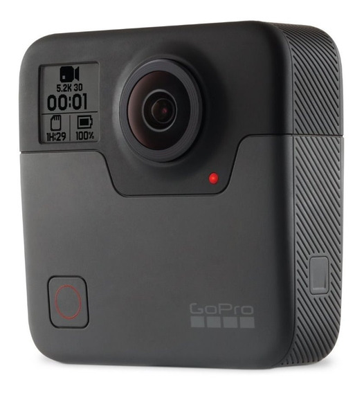 Câmera Digital Gopro Fusion 360 18mp 5,2k Wi-fi Original Nf