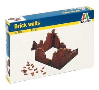 Brick Walls 1/35 Italeri No. 405