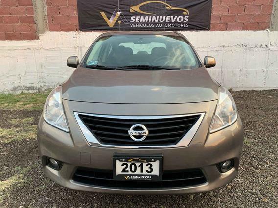 Nissan Versa 2013 4p Advance Aut