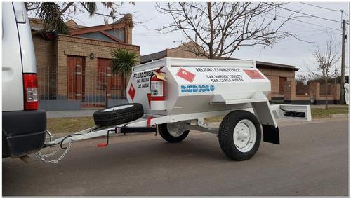 Acoplado Tanque Cisterna Homologado Para 1.000 Lts. (ci1001)