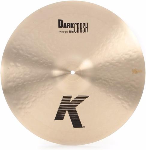 Platillo Zildjian K Dark Thin Crash 19 K0905