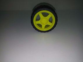 Roda Smart Car, Robo, Robotica, Roda Amarela