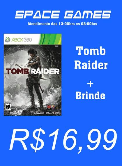 Tomb Raider + Brinde - Xbox 360 - Mídia Digital