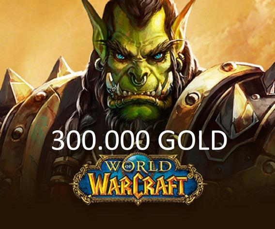 Wow - 300k Ouro Gold Area 52 - Horda & Aliança