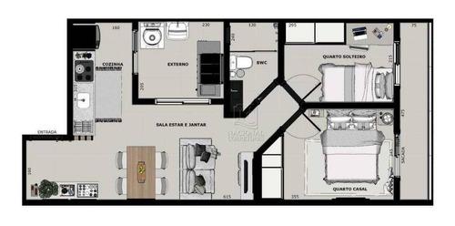 Cobertura Com 2 Dormitórios À Venda, 100 M² Por R$ 400.000,00 - Santa Maria - Santo André/sp - Co4911