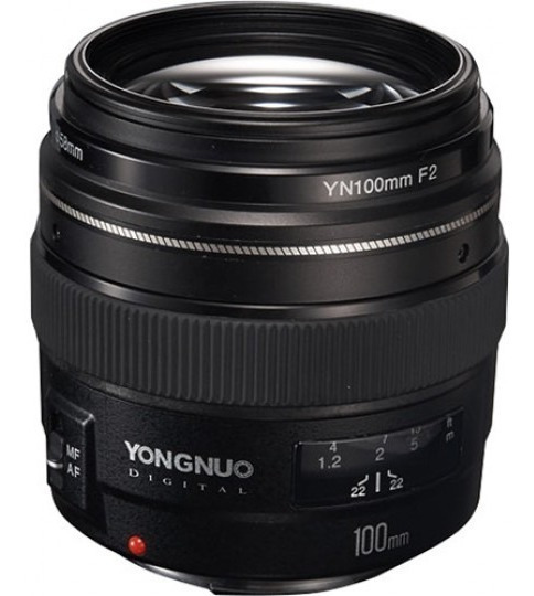Lente Yongnuo 100mm F/2 Para Canon Envio Hoje Com Nfe Garant