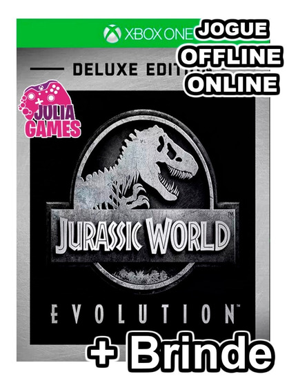 Jurassic World Evolution Xbox One Midia Digital + Brinde