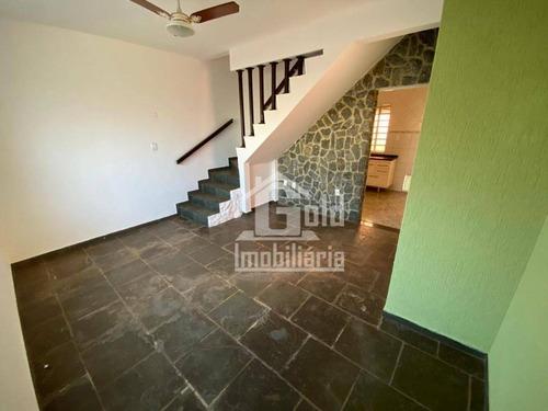 Casa Com 2 Dormitórios À Venda, 90 M² Por R$ 190.000,00 - Ipiranga - Ribeirão Preto/sp - Ca1457