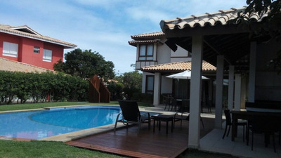 Casa No Condomínio Quintas Do Sauípe - 4321