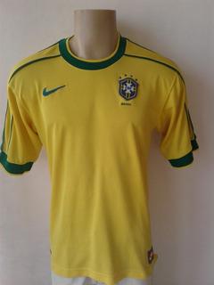Camisa Do Brasil 1998 - Nike - Tamanho M