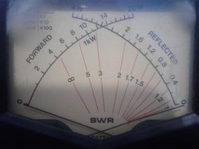 Wattímetro E Medidor De Roe. 20 A 200 Watts 1kw Calibrado !