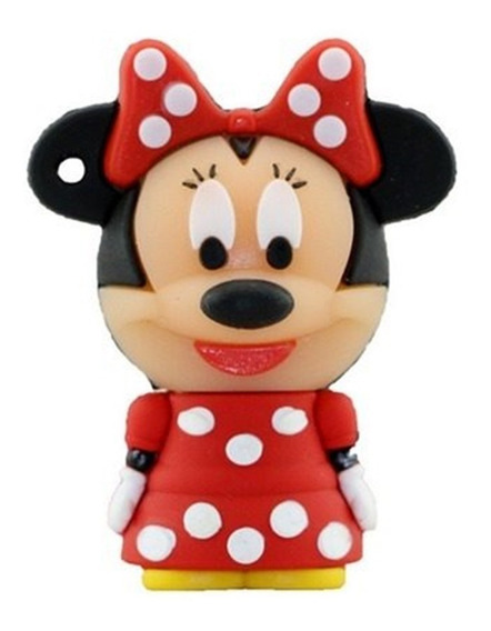 Pendrive Personalizado Disney 8 Gb Minnie Mouse