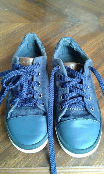 Zapatos Casual Tipo Converse Cole Haan Original Talla 33