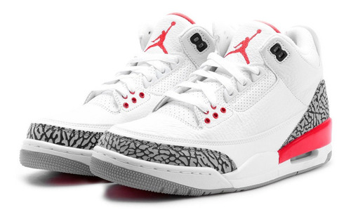 air jordan retro 3 blanco