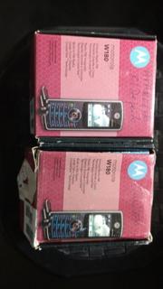 Celular Antigo Motorola W180 2 Peças (defeito) P
