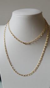 Corrente Masculina 70cm Ouro18k 750 Elos Iguais 1/1