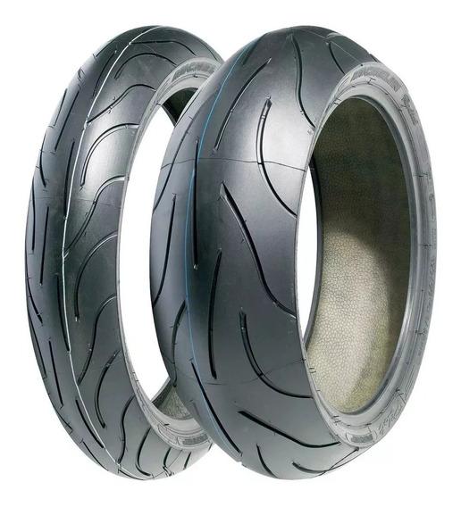Par Pneu 120/70-17+190/55-17 Michelin Pilot Power 2ct Radial