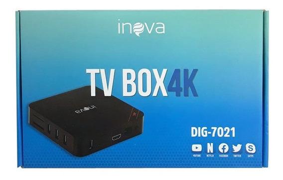 Conversor Digital Tv Box 4k Dig-7021 Inova