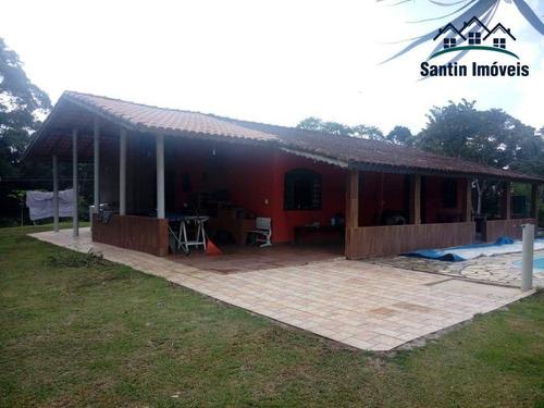 Chácara Com 3 Dormitórios À Venda, 170 M² Por R$ 399.000,00 - Tucum - Iguape/sp - Ch0006