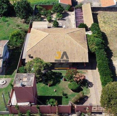Imagem 1 de 20 de Chácara Com 3 Dormitórios À Venda, 1000 M² Por R$ 815.000,00 - Altos Da Bela Vista - Indaiatuba/sp - Ch0734