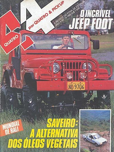 4x4&pickup.019 1985- Califórnia Engerauto Yamaha Dt180n Jeep