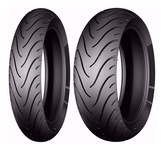 Combo Michelin 120/70-17 + 180/55-17 Pilot Street Radial