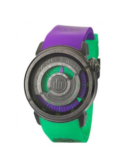 Relógio Yankee Street Masculino - Ys30158l - Cor Roxo/verde