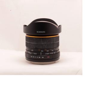 Lente Rokinon 8mm F/3.5 Fisheye Para Canon