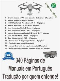 Dji Mavic 2 Pro/zoom-manual Português + @ Via E-mail - V1.8