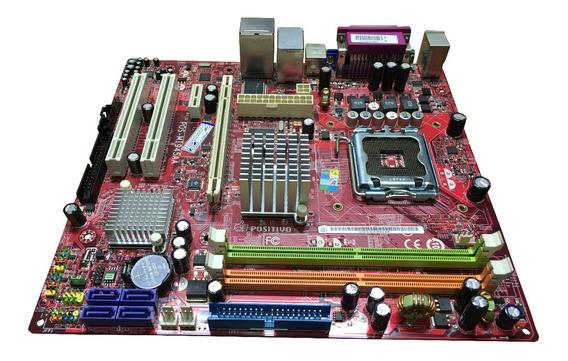 Placa Mae Pos-mi945aa 775 Ddr2 Suporta Dual Core E Core2 Duo