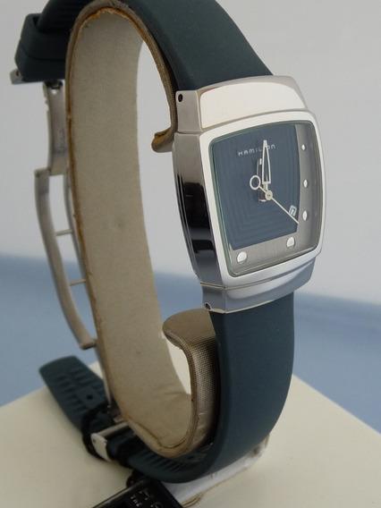 Hamilton Riva Reloj Mod 6329 Caja De Acero (ref 942)